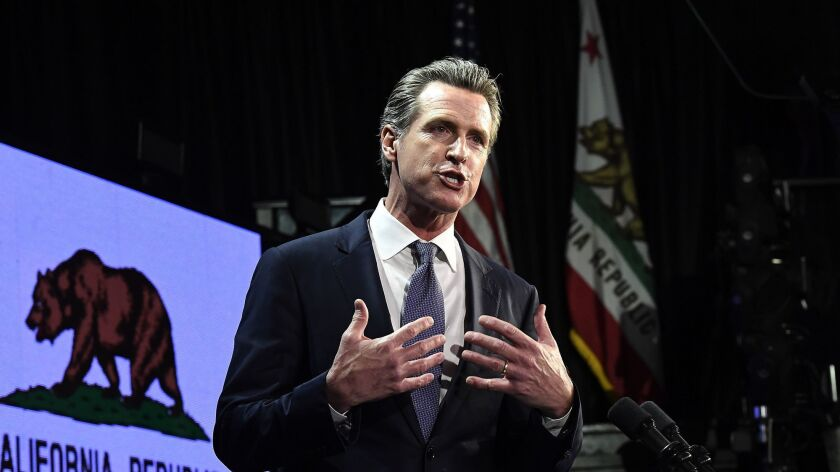 Gavin Newsom was a pioneer on gay marriage. Now he's trying to make LGBT history as governor