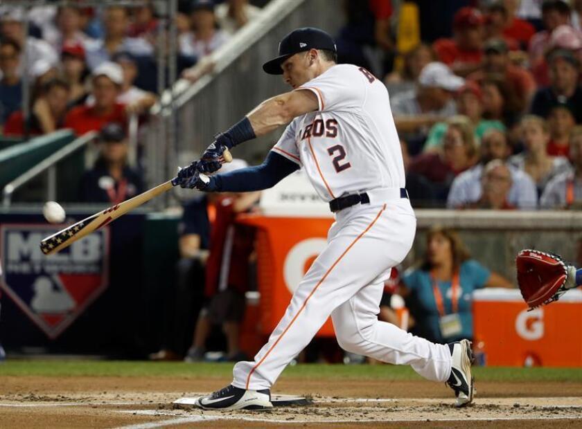 Alex Bregman, jugador de los Astros de Houston. EFE/Archivo
