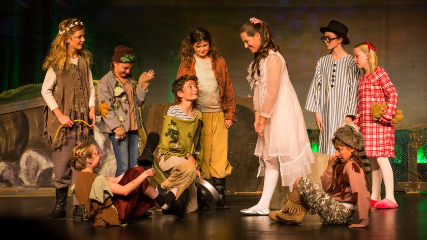 "Rancho Santa Fe Players in ""Peter Pan"""