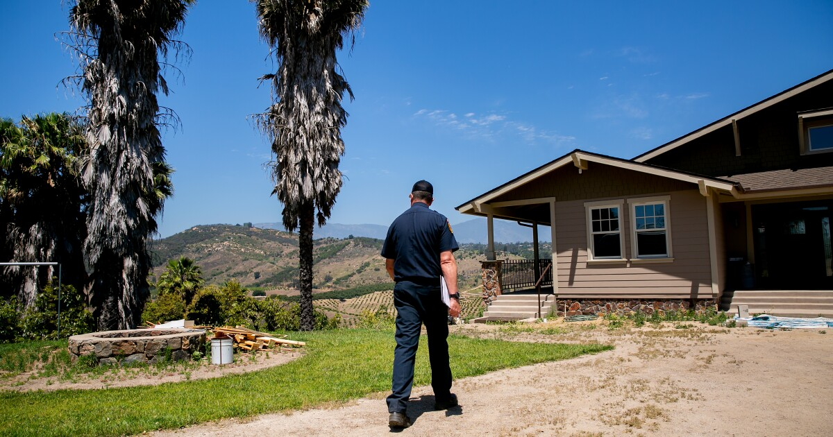 Reporter notebook: Cal Fire San Diego cracks down on flammable vegetation around homes