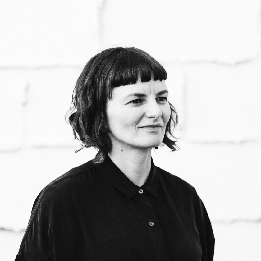 A photo of Kerianne Quick, the artist behind '[A] Portrait of People in Motion'