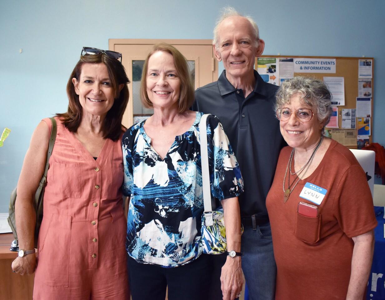 Bridgit Sydserff, Connie Ready, Vince Ready and EBC Director Lynn Wolsey.
