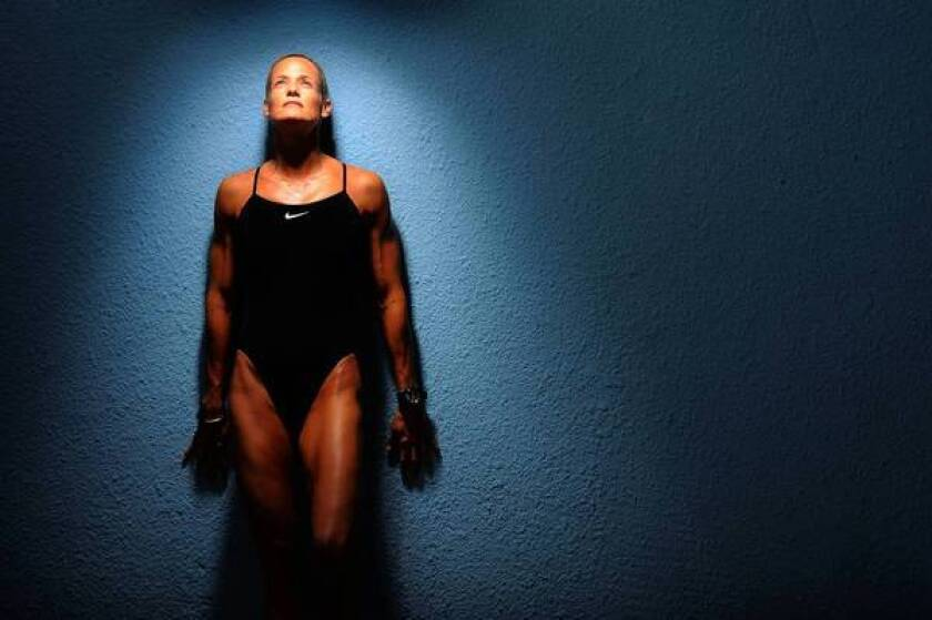 Olympic swimmer Dara Torres recommends rotating shampoos to keep hair looking good.
