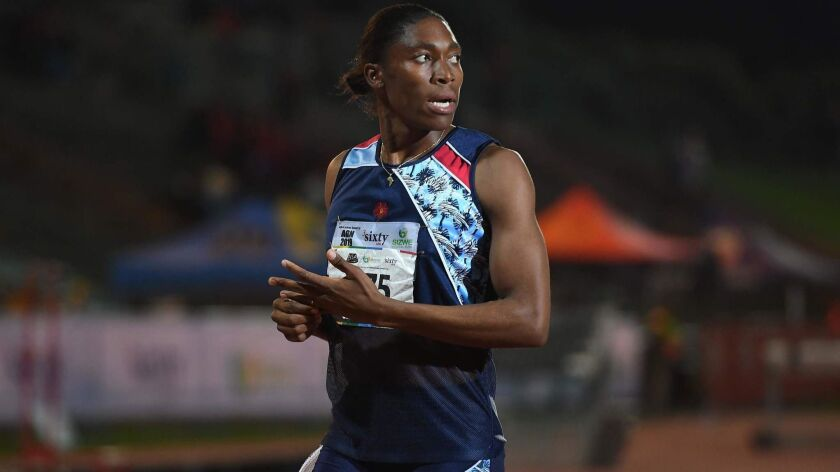 SAFRICA-ATHLETICS-SEMENYA