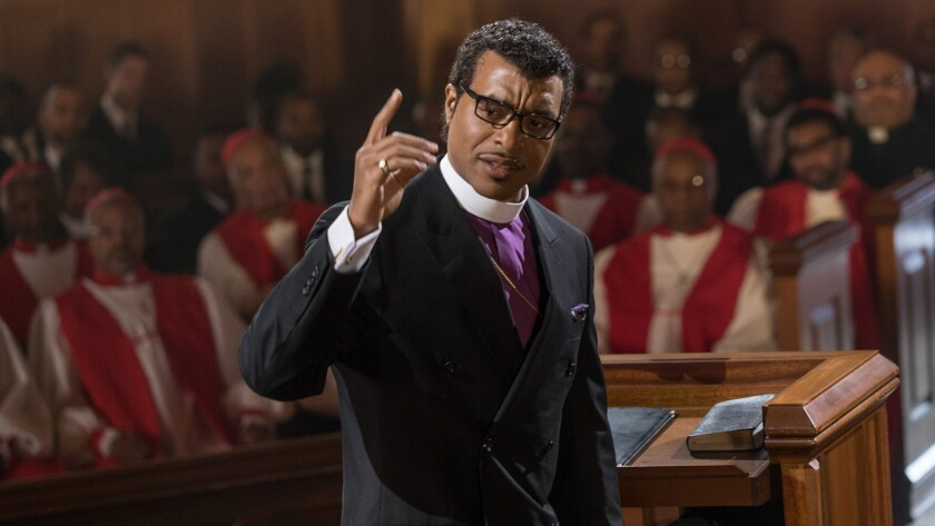 """Chiwetel Ejiofor in the movie """"Come Sunday."""""""