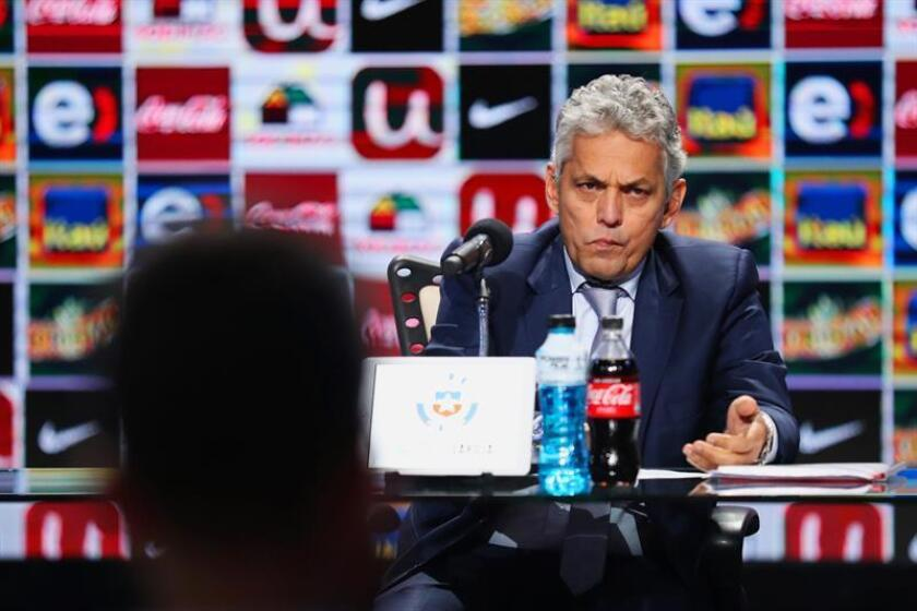 The new Chile coach the Colombian Reinaldo Rueda, at a press conference Aug. 30, 2018 in Santiago (Chile). EPA-EFE FILE/Alberto Peña