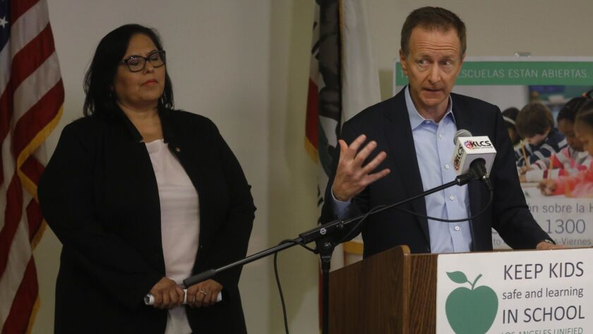 LOS ANGELES, CA - JANUARY 18, 2019 - - Austin Beutner, Los Angeles Unified School District (LAUSD) S