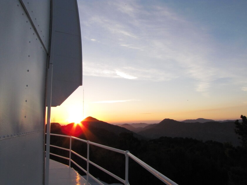 The Mt. Wilson Observatory, perched high in the San Gabriel Mountains, was where Hubble and others made astronomical discoveries that revolutionized science.