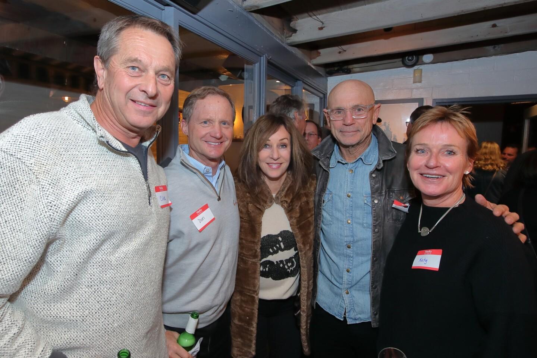 Clive Hopwood, Don Anken, Janet Cruzan, Dennis Cruzan, Katy Hopwood