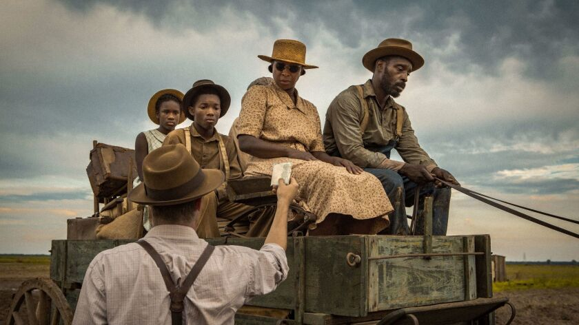 "Mary J Blige and Rob Morgan in a scene from the movie ""Mudbound."" Credit: Steve Dietl / Netflix"