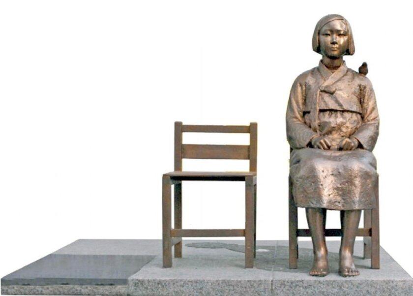 Statue honoring WW II-era sex slaves coming to Glendale