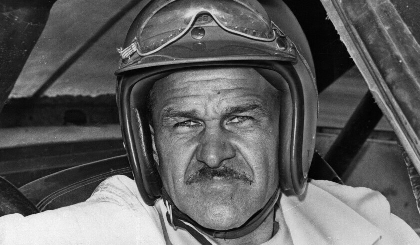 Wendell Scott became the first African American to race full time in NASCAR's top series. He raced from 1961-73.