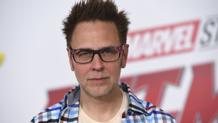 """James Gunn at the June 2018 premiere of """"Ant-Man and the Wasp."""""""