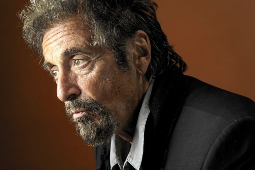 Al Pacino at the Four Seasons Beverly Hills hotel.