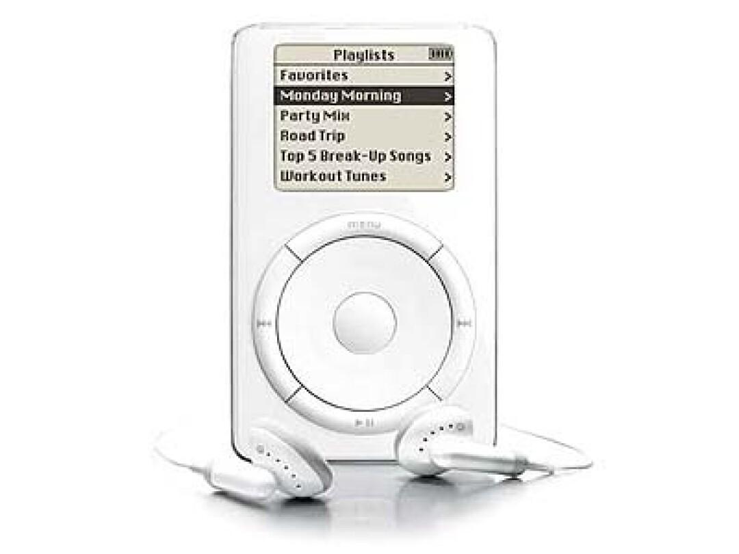iPod player.