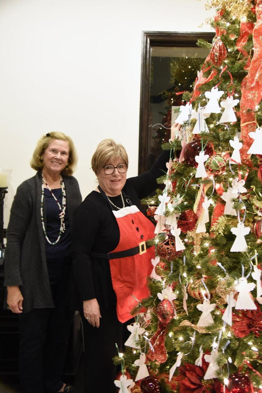 RSF Rotary past President Heather Manion, event host Norma Wiberg