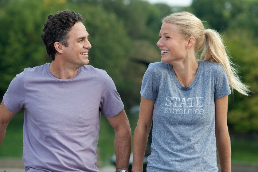 "Mark Ruffalo and Gwyneth Paltrow in ""Thanks for Sharing"""