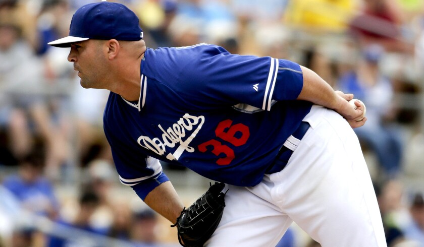 Adam Liberatore might have won a spot in the Dodgers' bullpen after yielding no runs in 9 2/3 innings of spring training.