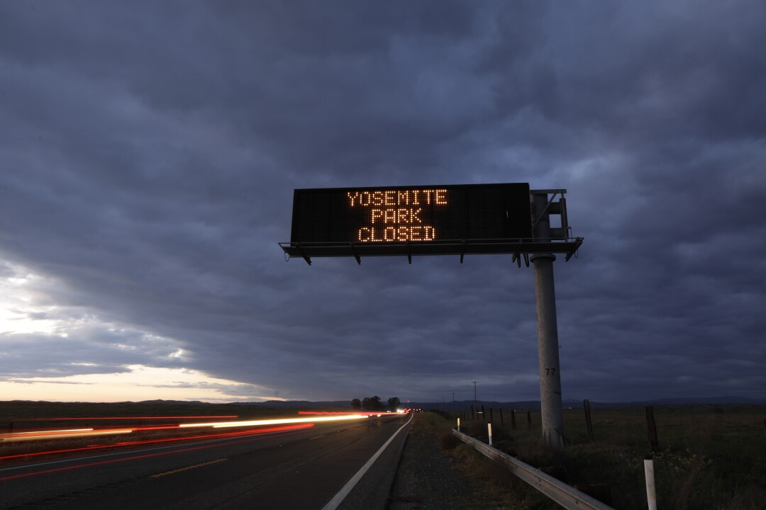 Yosemite National Park remains closed to visitors due to the coronavirus outbreak