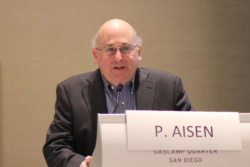 Dr. Paul Aisen, shown here in a file photo, is at the center of a court battle between UC San Diego and the University of Southern California.