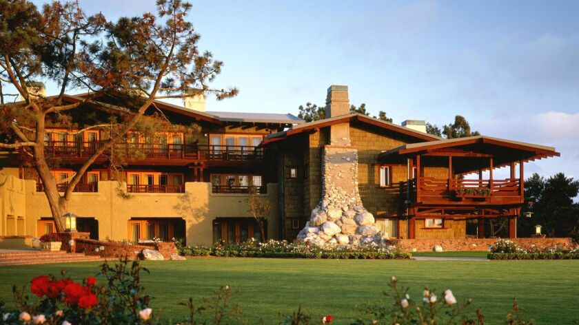 The Lodge at Torrey Pines in La Jolla is one of AAA's Five-Diamond hotels.