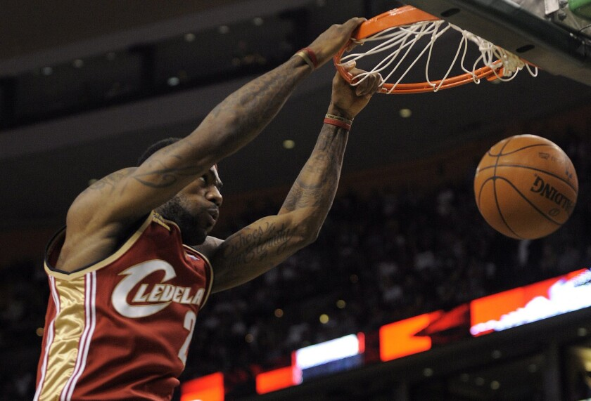 """LeBron James, in May 2010 as a Cleveland Cavalier, will return to the Ohio team from the Miami Heat. He's also executive producer of a new basketball-themed comedy, """"Survivor's Remorse."""""""