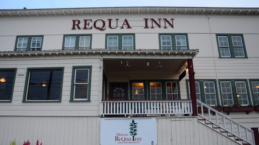 The Historic Requa Inn stands outside Klamath, near California's northern border, at the edge of Redwood National and State Parks.