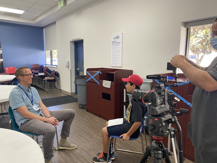 Arden Pala interviews Interfaith Community Services Executive Director Greg Anglea.