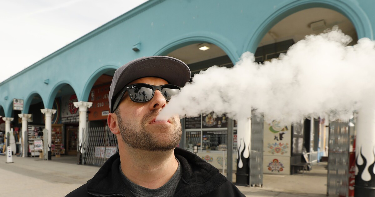 L A County Expands Smoking Ban To Vaping Tobacco And Smoking Pot