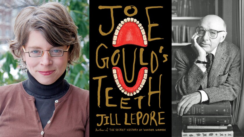"""Author Jill Lepore takes on Joseph Mitchell, right, and his famous, elusive subject Joe Gould in """"Joe Gould's Teeth."""""""