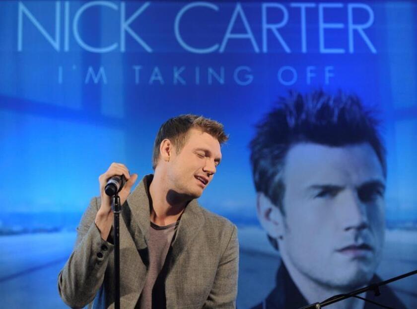 Nick Carter, miembro de Backstreet Boys, niega las acusaciones de violación