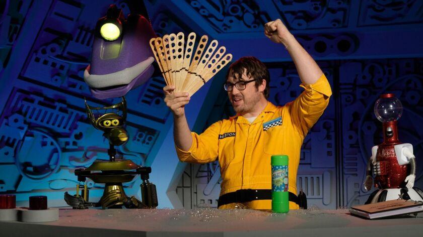 'Mystery Science Theater 3000' starring Jonah Ray, Hampton Yount, Baron Vaughn, Rebecca Hanson, Tim