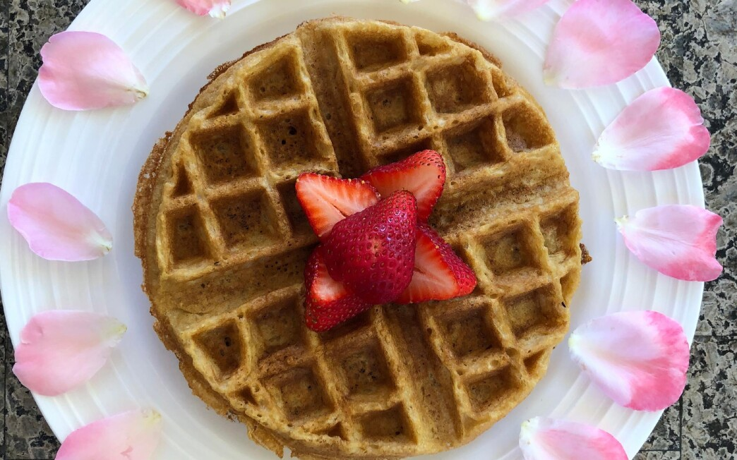 """""""Lisa's Waffles"""" from Josh Cohen's """"Comfort Food For An Uncomfortable Stomach, By a Kid for Kids"""""""