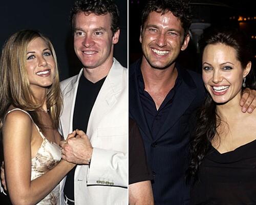 Jennifer Aniston, Tate Donovan, Gerard Butler, Angelina Jolie