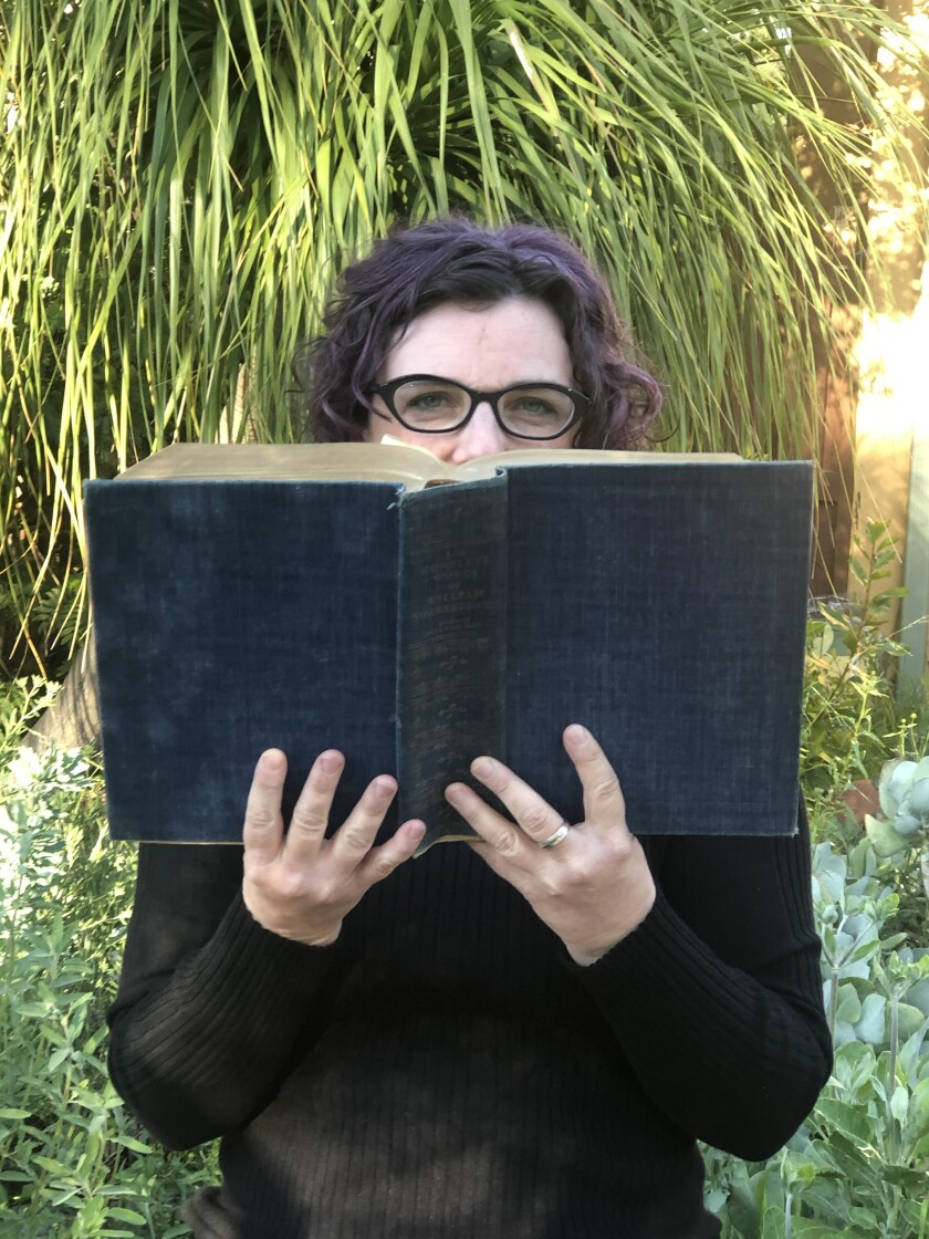 Danielle Mages Amato hosts the Old Globe's On Book Shakespeare Reading Group.