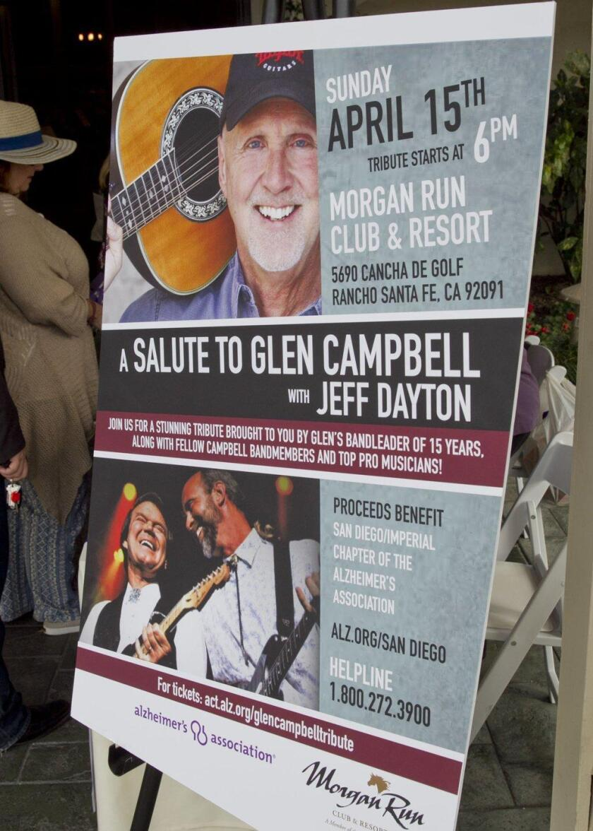"The Alzheimers Association ""Salute to Glen Campbell"" held at Morgan Run Club"
