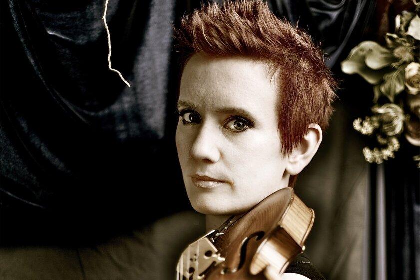 Violinist Aisslinn Nosky. Photo: Matthew Marigold