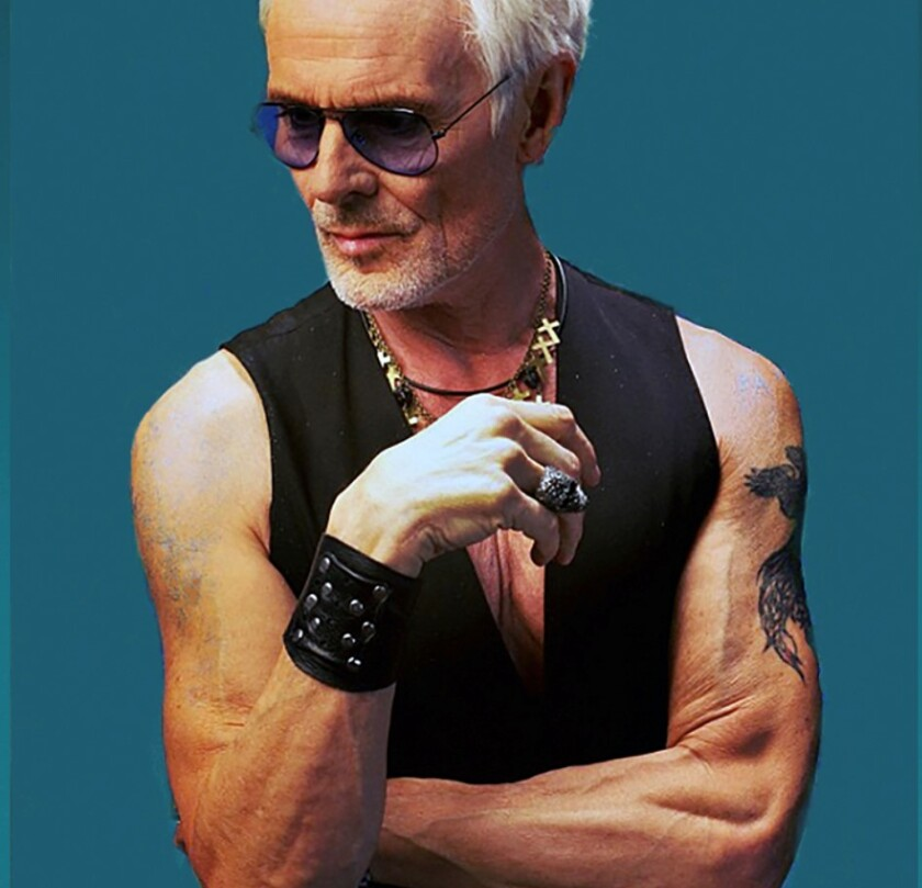 "Michael Des Barres is the subject of the new documentary, ""Michael Des Barres: Who Do You Want Me to Be?"""