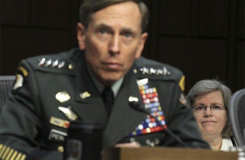 David and Holly Petraeus