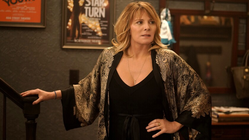 "Kim Cattrall in ""Tell Me a Story"" on the CW."