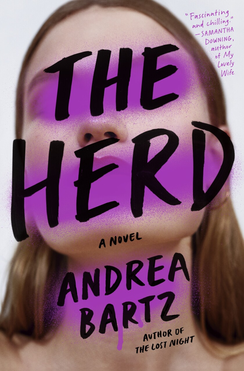 """A book jacket for """"The Herd,"""" by Andrea Bartz."""