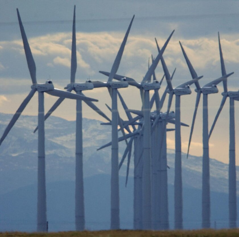 A man who solicited investors nationwide for a wind farm in Wyoming was sentenced to 12 years in prison for defrauding 83 investors, many of them elderly, of more than $4.4 million by promoting investment in nonexistent wind farms.