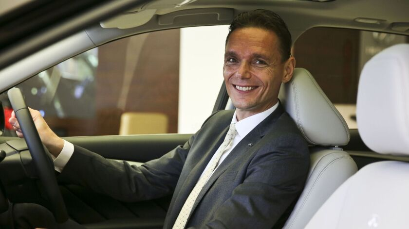 Roland Krueger, 53, became president of Infiniti Motor Co. in 2015 after holding executive posts at Germany's BMW Group.