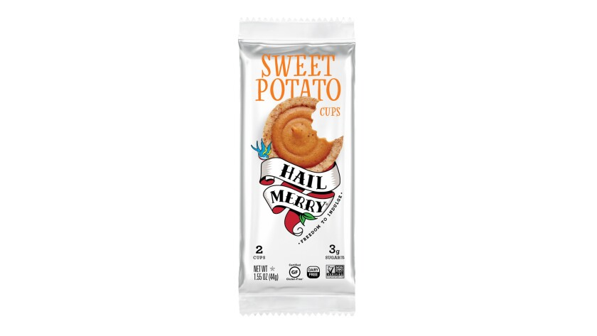 These vegan and paleo friendly tarts from Hail Merry have a rich sweet potato flavor and are sweeten