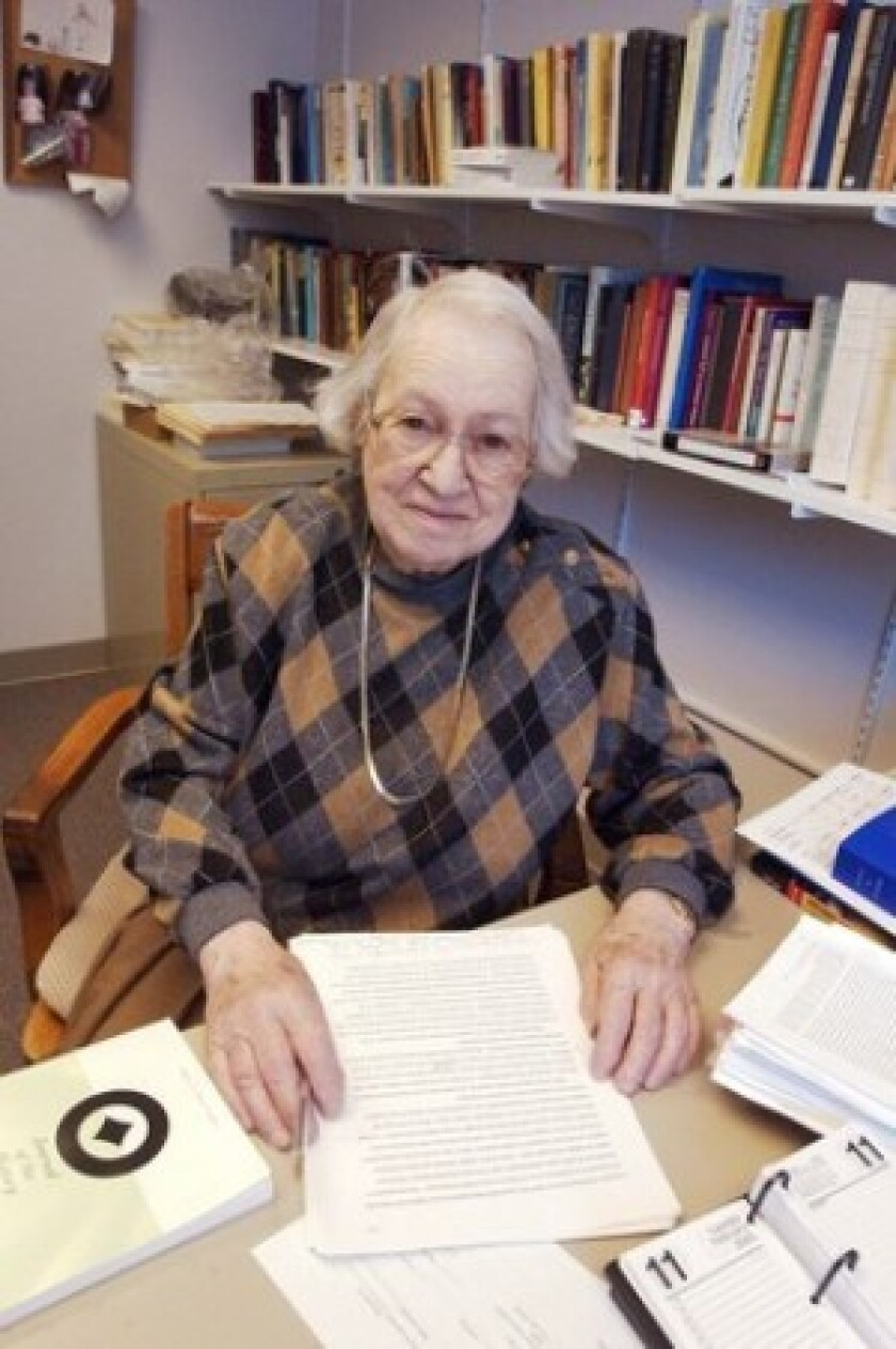 Marjorie Grene was a formidable and independent thinker with a famously cantankerous style. Her chief contribution was the leading role she played in founding the field of philosophy of biology. She also wrote influential texts on existentialism.