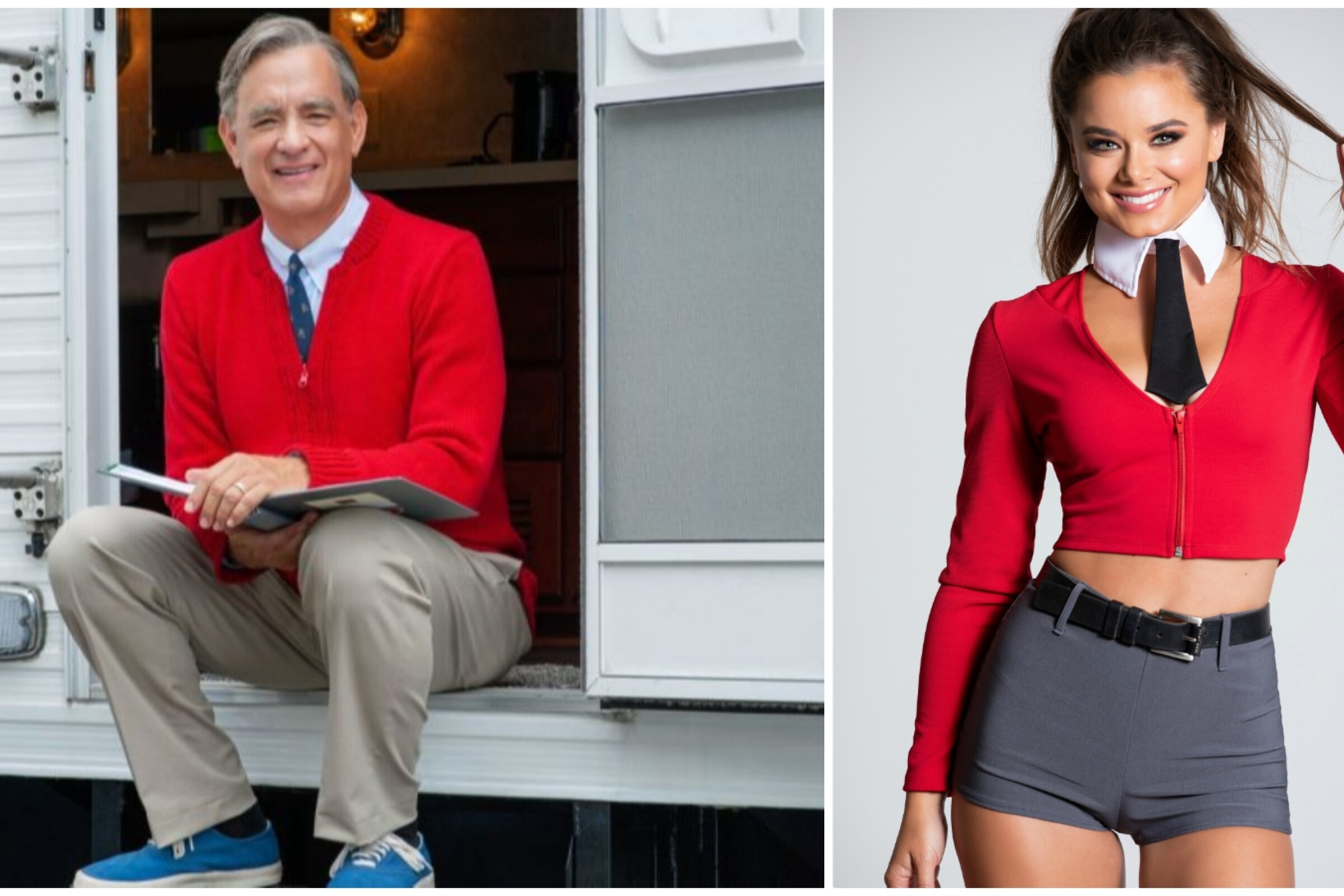 Halloween 2019's buzziest costumes:  J. Lo, White Claw and a sexy Mister Rogers - Los Angeles Times