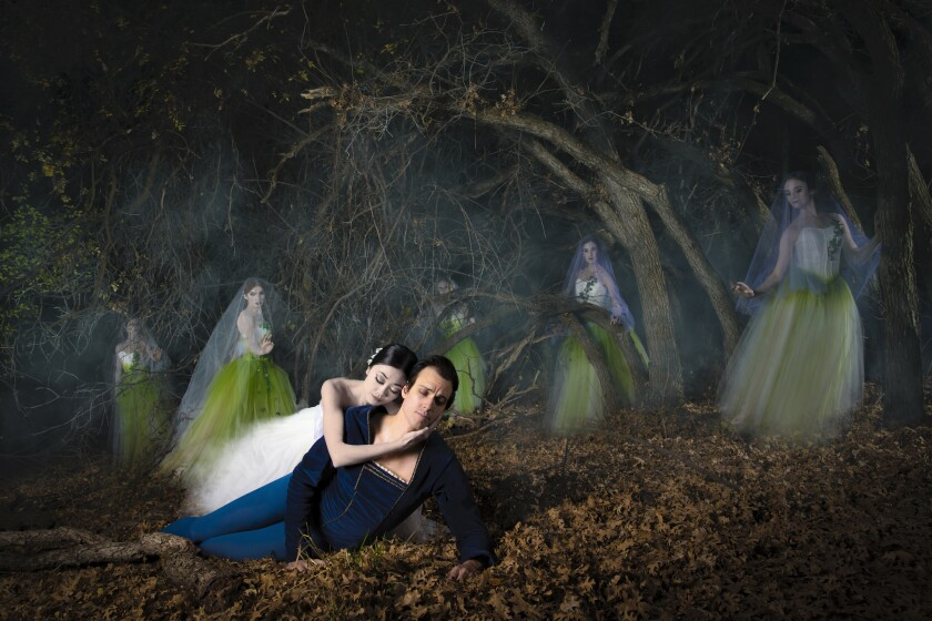 "Ballet West stages the classic dance fable ""Giselle"" at the Soraya on Tuesday."