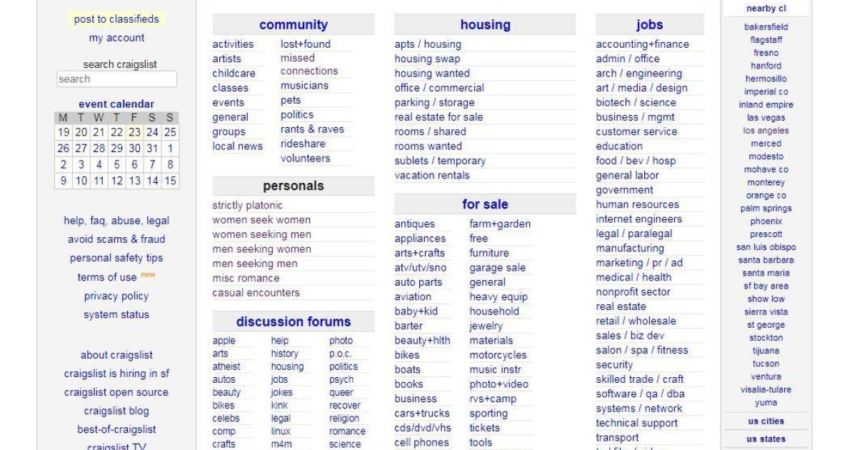Why Craigslist has suddenly shut off its personals section