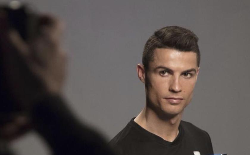 Cristiano Ronaldo, en una sesión de fotos.