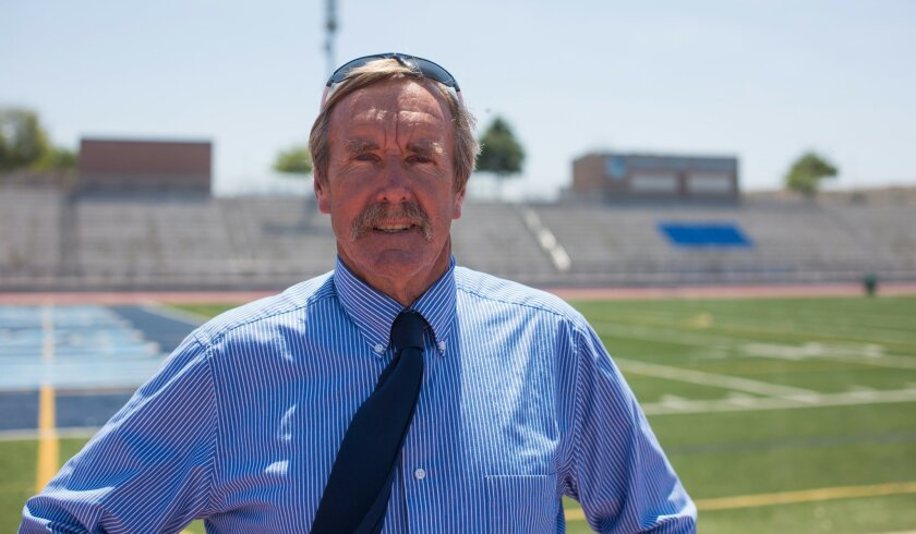 Otay Ranch cross country and track coach Ian Cumming has been in the South County for 41 years.